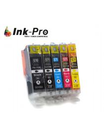 INKJET INPRO CANON PGI570 XL NEGRO