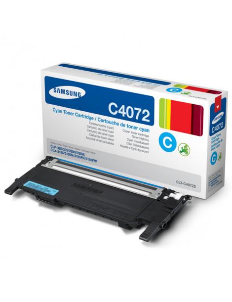 SAMSUNG CLP320/CLP325 CYAN CARTUCHO DE TONER ORIGINAL CLT-C4072S/ST944A