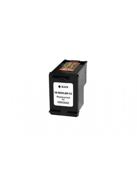 HP 304XL V3 NEGRO CARTUCHO DE TINTA REMANUFACTURADO N9K08AE/N9K06AE (MUESTRA NIVEL DE TINTA)