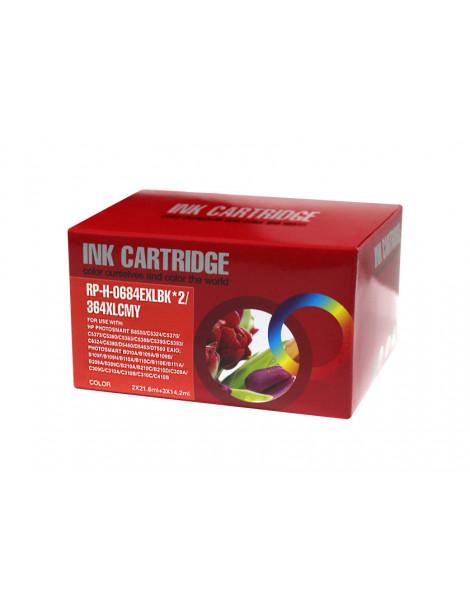 HP 364XL V2 MULTIPACK DE 5 CARTUCHOS DE TINTA GENERICOS N9J74AE/N9J73AE