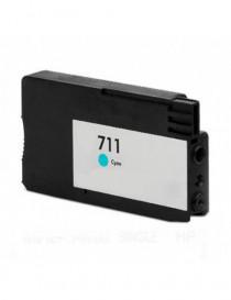 HP 711 V4/V5 CYAN CARTUCHO DE TINTA GENERICO CZ130A