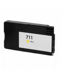 HP 711 V4/V5 AMARILLO CARTUCHO DE TINTA GENERICO CZ132A
