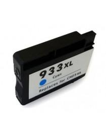 HP 933XL V4/V5 CYAN CARTUCHO DE TINTA GENERICO CN054AE