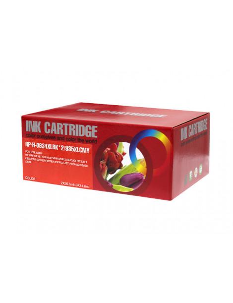 HP 934XL/935XL V4/V5 MULTIPACK DE 5 CARTUCHOS DE TINTA GENERICOS X4E14AE