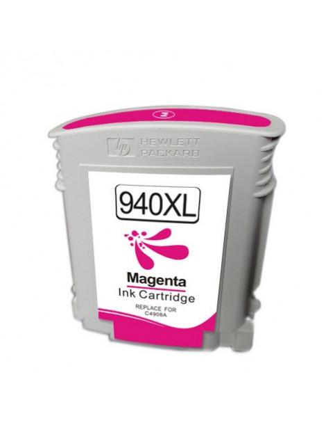 HP 940XL MAGENTA CARTUCHO DE TINTA REMANUFACTURADO C4908AE