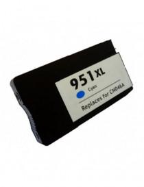 HP 951XL V4/V5 CYAN CARTUCHO DE TINTA GENERICO CN046AE/CN050AE