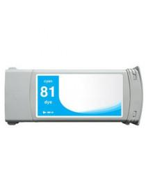 HP 81 CYAN CARTUCHO DE TINTA GENERICO C4931A