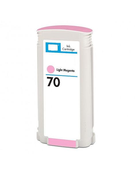 HP 70 MAGENTA LIGHT CARTUCHO DE TINTA PIGMENTADA GENERICO C9455A