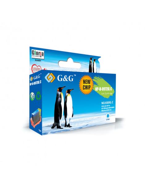 G&G HP 920XL V2 CYAN CARTUCHO DE TINTA GENERICO CD972AE