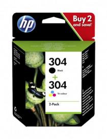 HP 304 NEGRO + TRICOLOR MULTIPACK ORIGINAL 3JB05AE