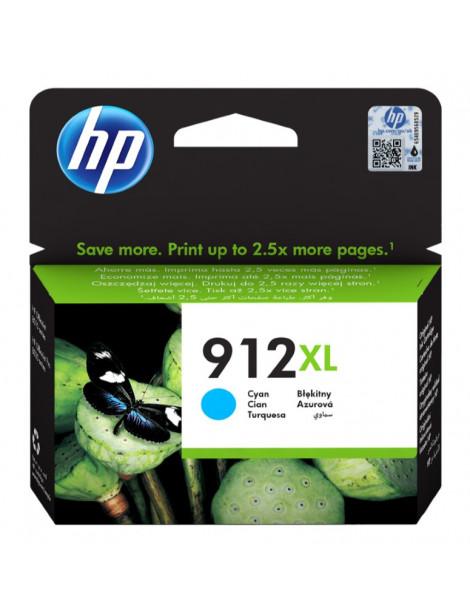 HP 912XL CYAN CARTUCHO DE TINTA ORIGINAL 3YL81AE