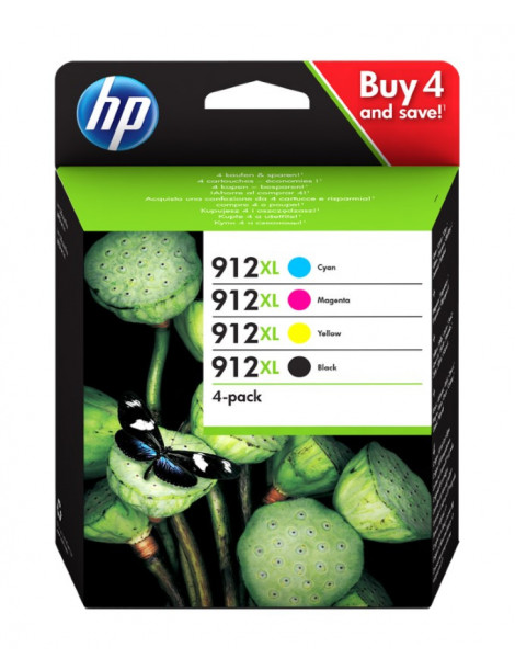 HP 912XL MULTIPACK ORIGINAL 4 CARTUCHOS 3YP34AE