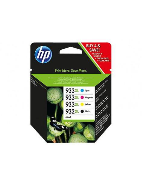 HP 932XL + 933XL MULTIPACK ORIGINAL 4 CARTUCHOS C2P42AE