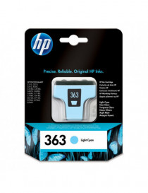 HP 363 CYAN LIGHT CARTUCHO DE TINTA ORIGINAL C8774EE