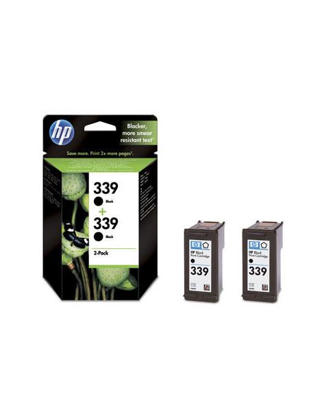HP 339 NEGRO MULTIPACK DE 2 CARTUCHOS DE TINTA ORIGINALES C9504EE
