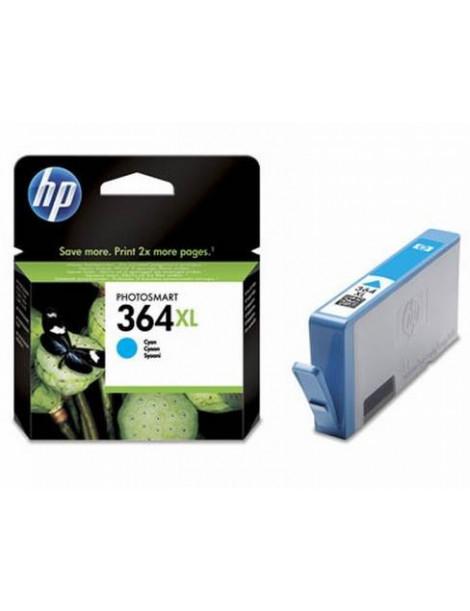 HP 364XL CYAN CARTUCHO DE TINTA ORIGINAL CB323EE