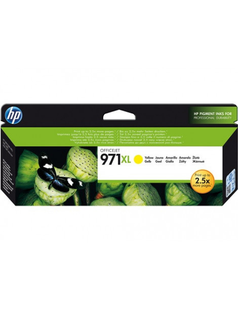 HP 971XL AMARILLO CARTUCHO DE TINTA ORIGINAL CN628AE