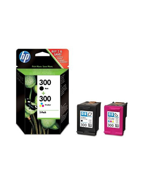 HP 300 NEGRO + TRICOLOR MULTIPACK ORIGINAL CN637EE