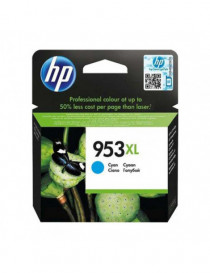HP 953XL CYAN CARTUCHO DE TINTA ORIGINAL F6U16AE