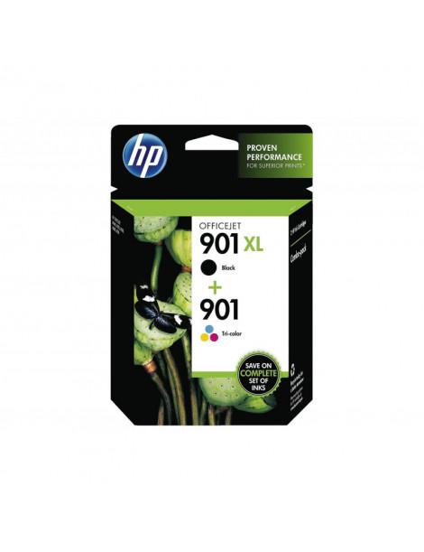 HP 901XL NEGRO + 901 TRICOLOR MULTIPACK ORIGINAL SD519AE