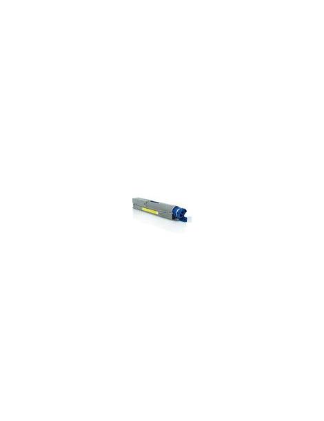 OKI C3300/C3400/C3450/C3520/C3530/C3600/MC350/MC360 AMARILLO CARTUCHO DE TONER GENERICO UNIVERSAL