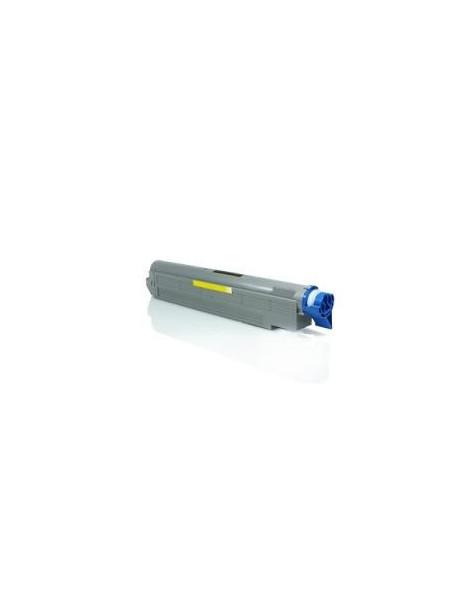 OKI C9600/C9650/C9800/C9850 AMARILLO CARTUCHO DE TONER GENERICO 42918913